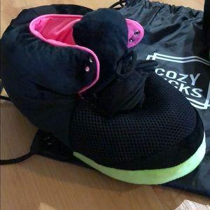 9f98004adeeb8 Shoes - Cozy Kicks Slippers